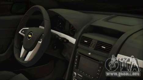 Chevrolet Lumina 2009 para la visión correcta GTA San Andreas
