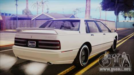 GTA 5 Albany Primo Custom para GTA San Andreas left