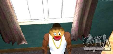 Máscara de Mal Prani v1 (Navidad de 2016) para GTA San Andreas tercera pantalla