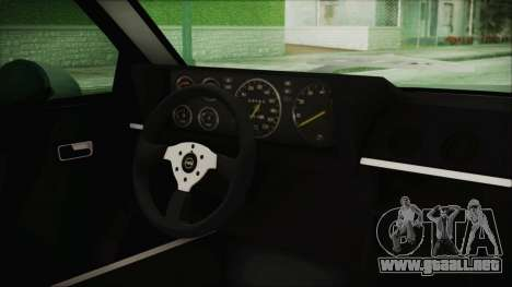 Opel Manta GSi Exclusive para la visión correcta GTA San Andreas