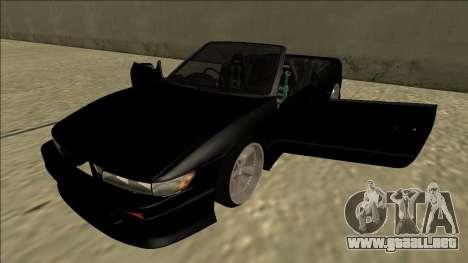 Nissan Silvia S13 para vista lateral GTA San Andreas
