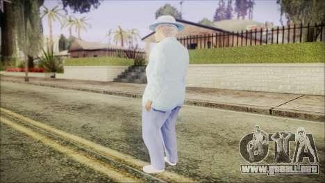 World In Conflict Old Lady para GTA San Andreas tercera pantalla