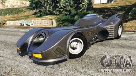 Batmobile 1989 [Beta] para GTA 5