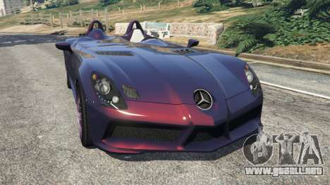 Mercedes-Benz SLR McLaren Stirling Moss para GTA 5