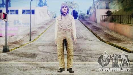 World In Conflict Tank Crewman para GTA San Andreas segunda pantalla