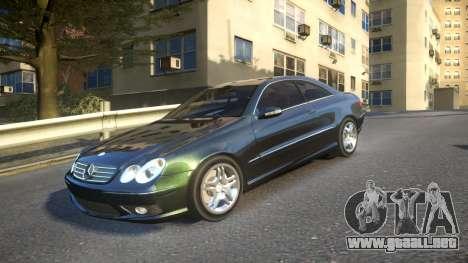 Mercedes CLK55 AMG Coupe 2003 para GTA 4