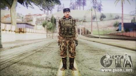 World In Conflict Orlovsky Winter para GTA San Andreas segunda pantalla