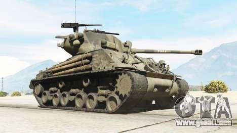 GTA 5 M4A3E8 Sherman Fury vista lateral derecha