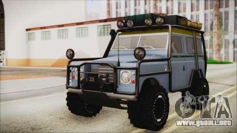 Land Rover Series 3 Off-Road para GTA San Andreas