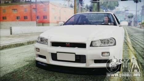 Nissan Skyline GT-R M-Spec Solo a 1999 para GTA San Andreas