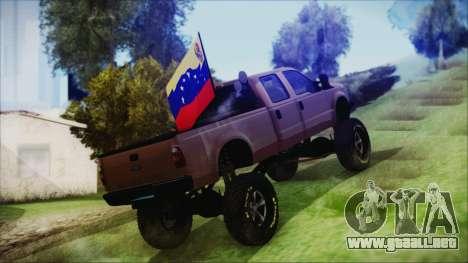 Ford F-250 Grenade Truck para GTA San Andreas left