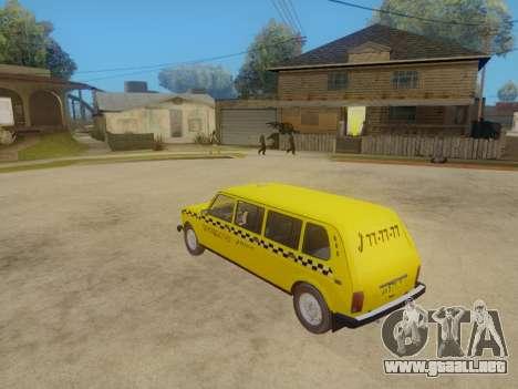 VAZ 2131 7-Puerta del Taxi para GTA San Andreas vista hacia atrás