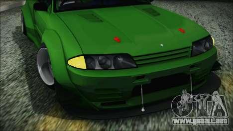 Nissan Skyline R32 Rocket Bunny para la visión correcta GTA San Andreas