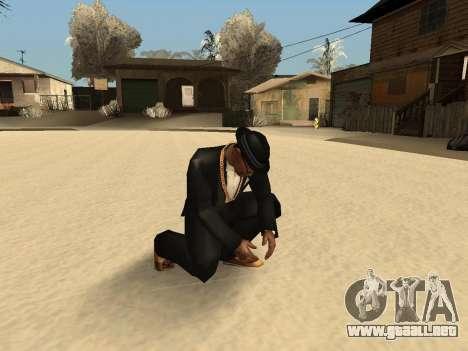 Lanzando la nieve para GTA San Andreas segunda pantalla