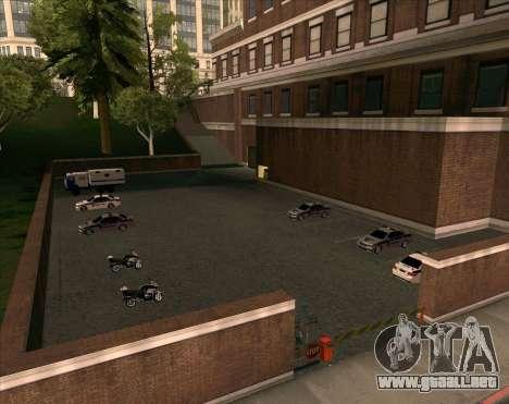 Los vehículos estacionados para GTA San Andreas tercera pantalla