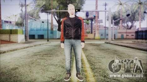 GTA Online Skin 42 para GTA San Andreas segunda pantalla