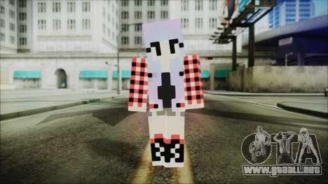 Minecraft Female Skin Edited para GTA San Andreas segunda pantalla