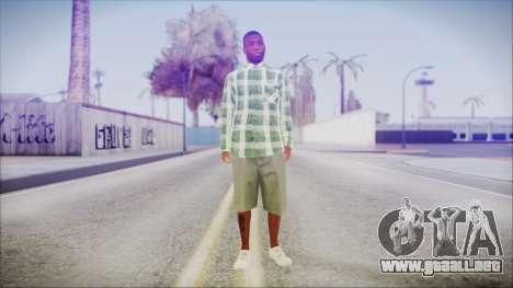 GTA 5 Grove Gang Member 2 para GTA San Andreas segunda pantalla