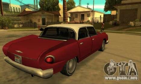Oceanic Glendale 1961 para GTA San Andreas vista hacia atrás