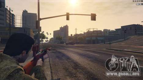 GTA 5 .30 Cal M1 Carbine Rifle cuarto captura de pantalla