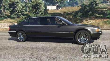 GTA 5 BMW L7 750iL (E38) vista lateral izquierda