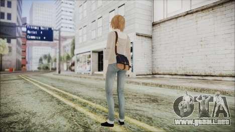 Life is Strange Episode 2 Max para GTA San Andreas tercera pantalla