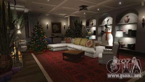 GTA 5 Adornos de navidad para la casa de Michael quinta captura de pantalla