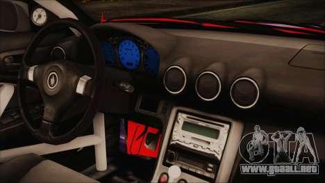 Nissan Silvia S15 Galaxy Drift v1.1 para la visión correcta GTA San Andreas