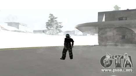 Skin pack para la Rifa de la pandilla para GTA San Andreas sucesivamente de pantalla