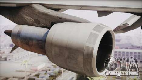 Boeing 747-283BM Scandinavian Airlines para la visión correcta GTA San Andreas
