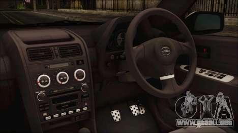Toyota Altezza 2004 Full Tunable HQ para la visión correcta GTA San Andreas
