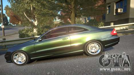 Mercedes CLK55 AMG Coupe 2003 para GTA 4 left