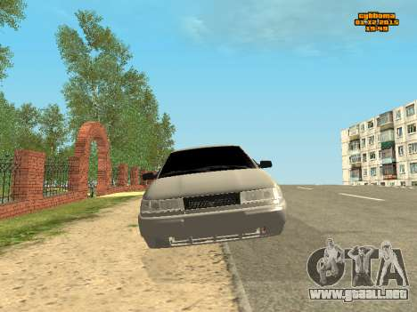 De los FLOREROS 2112 Bunker 0.1 v para GTA San Andreas vista hacia atrás