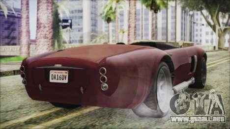 GTA 5 Declasse Mamba IVF para GTA San Andreas left