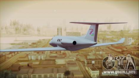 Enterable Customized Shamal para GTA San Andreas left