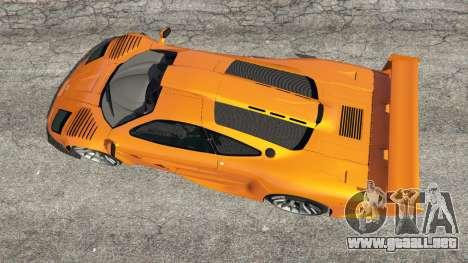 GTA 5 McLaren F1 GTR Longtail vista trasera