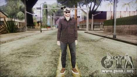 GTA Online Skin 40 para GTA San Andreas segunda pantalla