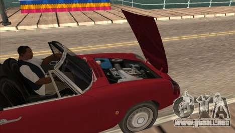 1966 Alfa Romeo Spider Duetto [IVF] para la visión correcta GTA San Andreas