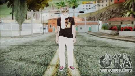 GTA Online Skin 35 para GTA San Andreas segunda pantalla