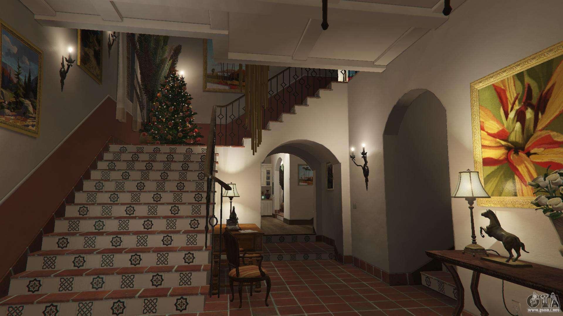 Adornos de navidad para la casa de michael para gta 5 - La casa de la navidad ...
