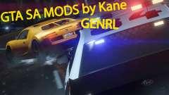 Los sonidos de las armas para GTA San Andreas