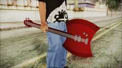 Axe Bass Marceline from Adventure Time para GTA San Andreas