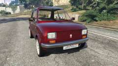 Fiat 126p v1.2 para GTA 5