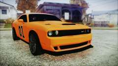Dodge Challenger SRT 2015 Hellcat General Lee para GTA San Andreas