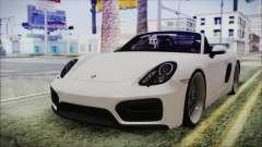 Porsche Boxster GTS 2016