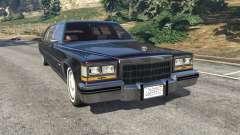 Cadillac Fleetwood 1985 Limousine [Beta]