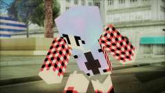 Minecraft Female Skin Edited para GTA San Andreas