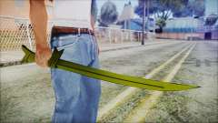 Grass Sword from Adventure Time para GTA San Andreas
