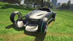 Mercedes-Benz Silver Lightning - Add-on para GTA 5
