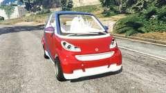 Smart ForTwo 2012 v0.1 para GTA 5